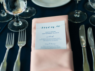Place setting by Queen of Hearts