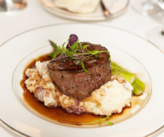 Filet mignon by Queen of Hearts Catering