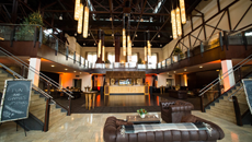 The Cupola Ballroom & Mezzanie at the Phoenixville Foundry