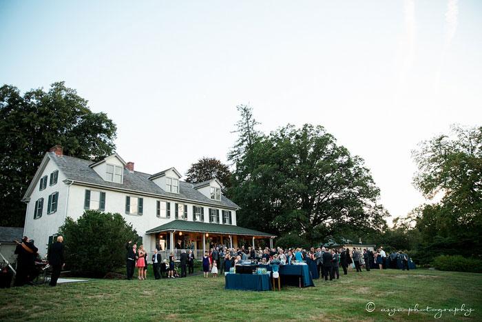 Hostan Outdoor Wedding at Springton Manor Farm