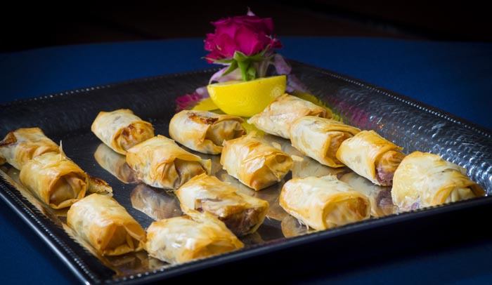 Brie with Raspberry in Phyllo