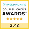 WeddingWires 2018 Couples' Choice Award winner