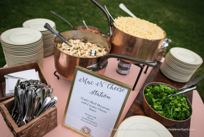 Creative Philadelphia food Stations - Mac and Cheese Station