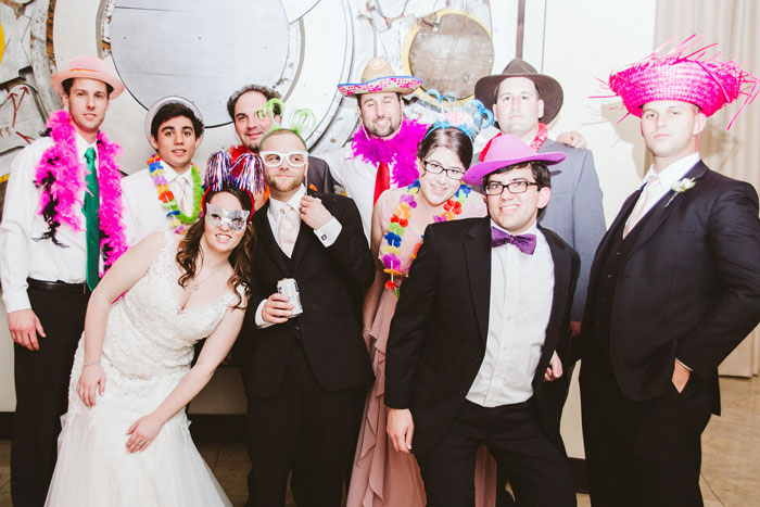 Photobooth at Wedding at Phoenixville Foundry