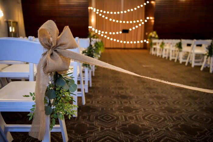 Indoor Ceremony with Personal Touches