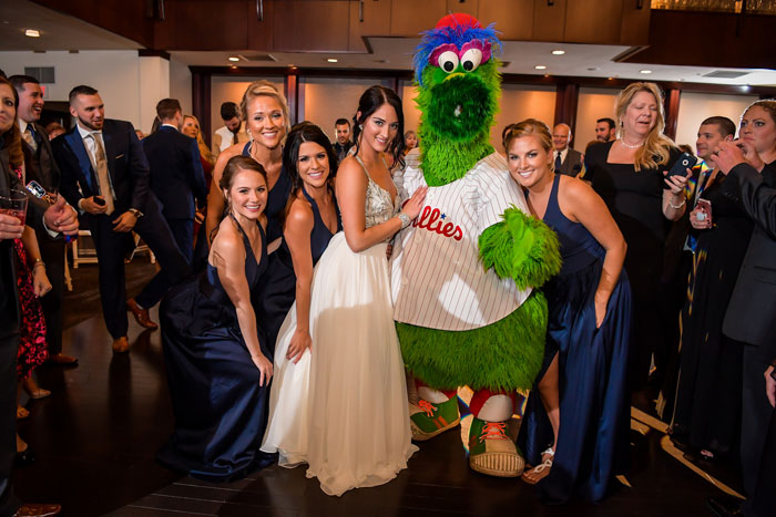 Dancing with the Philly Phanatic