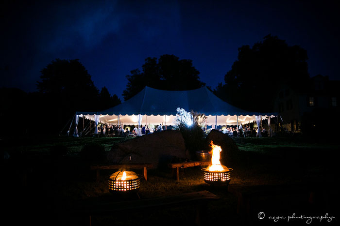 Wedding Campfires at Springton Manor Farm
