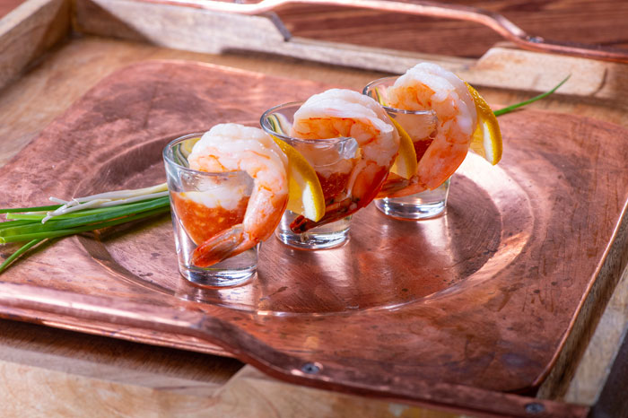 Shrimp cocktail shooter