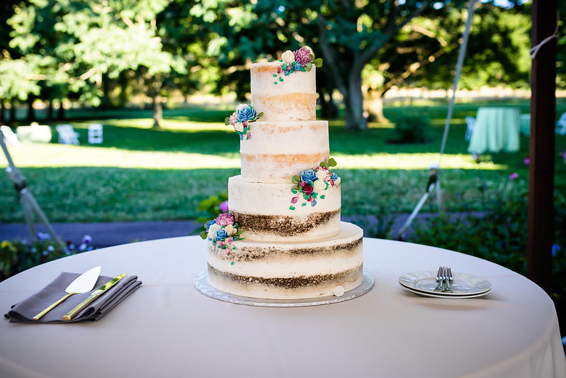 Wedding Cake at Queen of Hearts Wedding