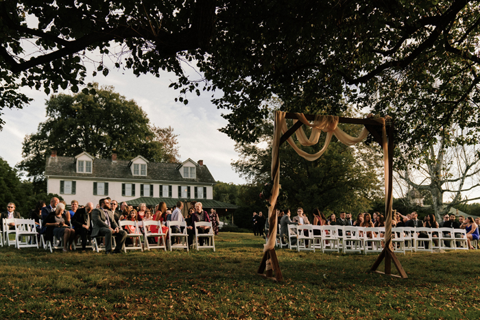 Outdoor Wedding at Springton Manor Farm