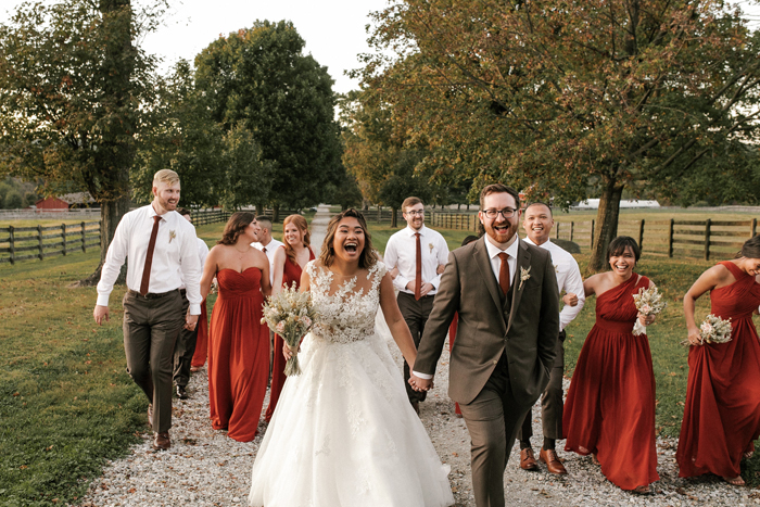 Fall (and Love) Were in the Air at Paula & Justin's Springton Manor Farm Wedding