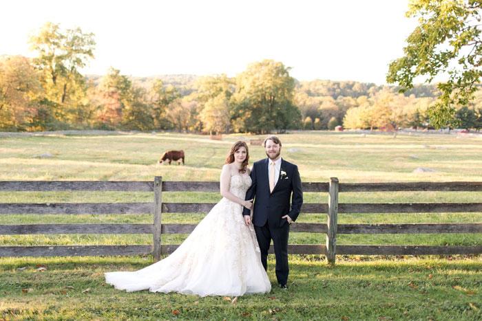 Melanie & Aidan's Fall Wedding at Springton Manor Farm