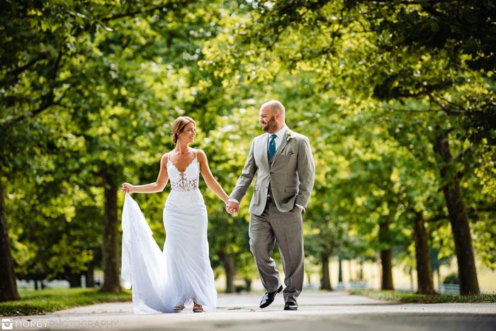 """Angela and Andrew's Scenic """"I Do"""" Views at Springton Manor Farm"""